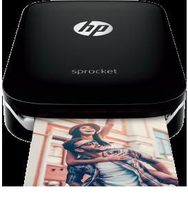 Black portable printer