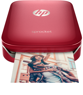 Red portable printer