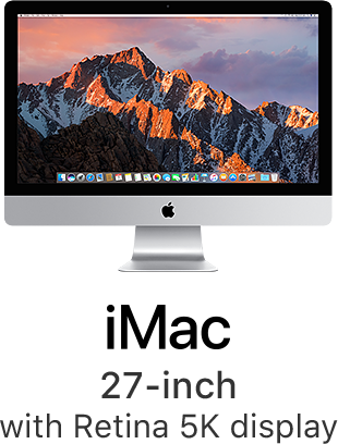 iMac 27-inch with Retina 5K display