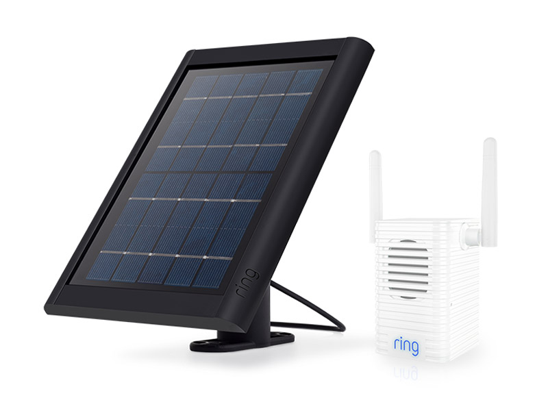 Wi-Fi extender, solar powered charger