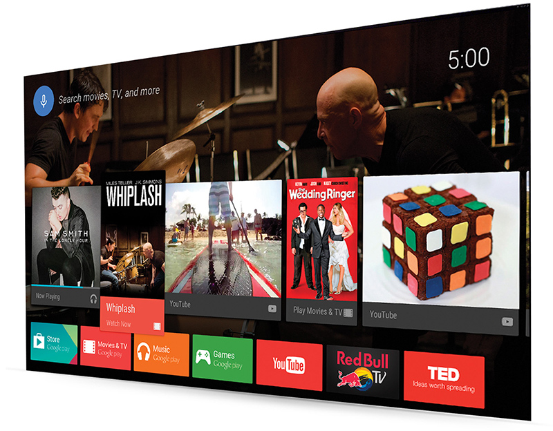 TV with Google Play store