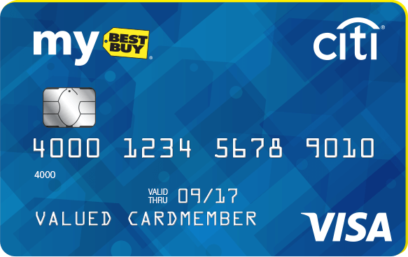 My Best Buy Visa Card