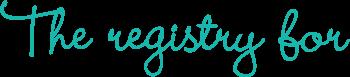 Registry For