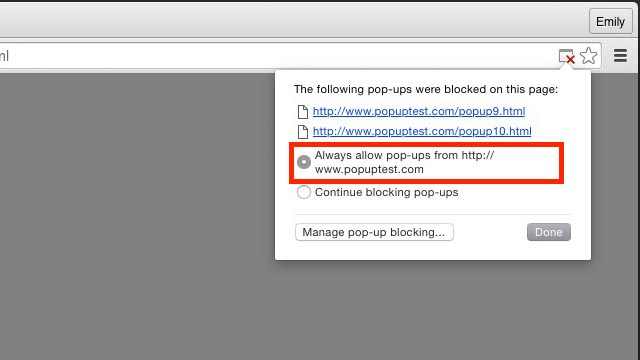 better pop up blocker better pop up blocker is a customizable popup blocker  for google chrome