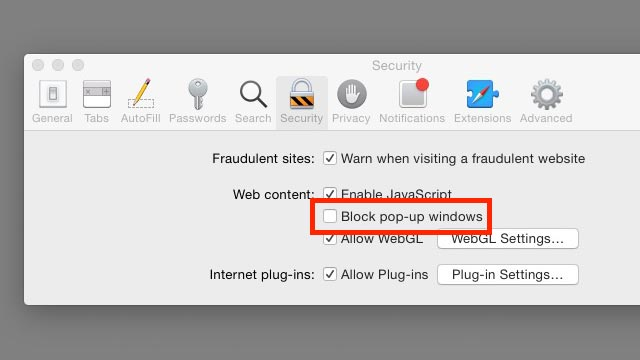 How to Disable a Pop-Up Blocker: Safari for Mac | AdvancedMD