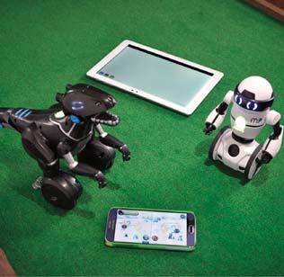 Robot and Phones