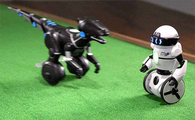 Robot Fight Animation